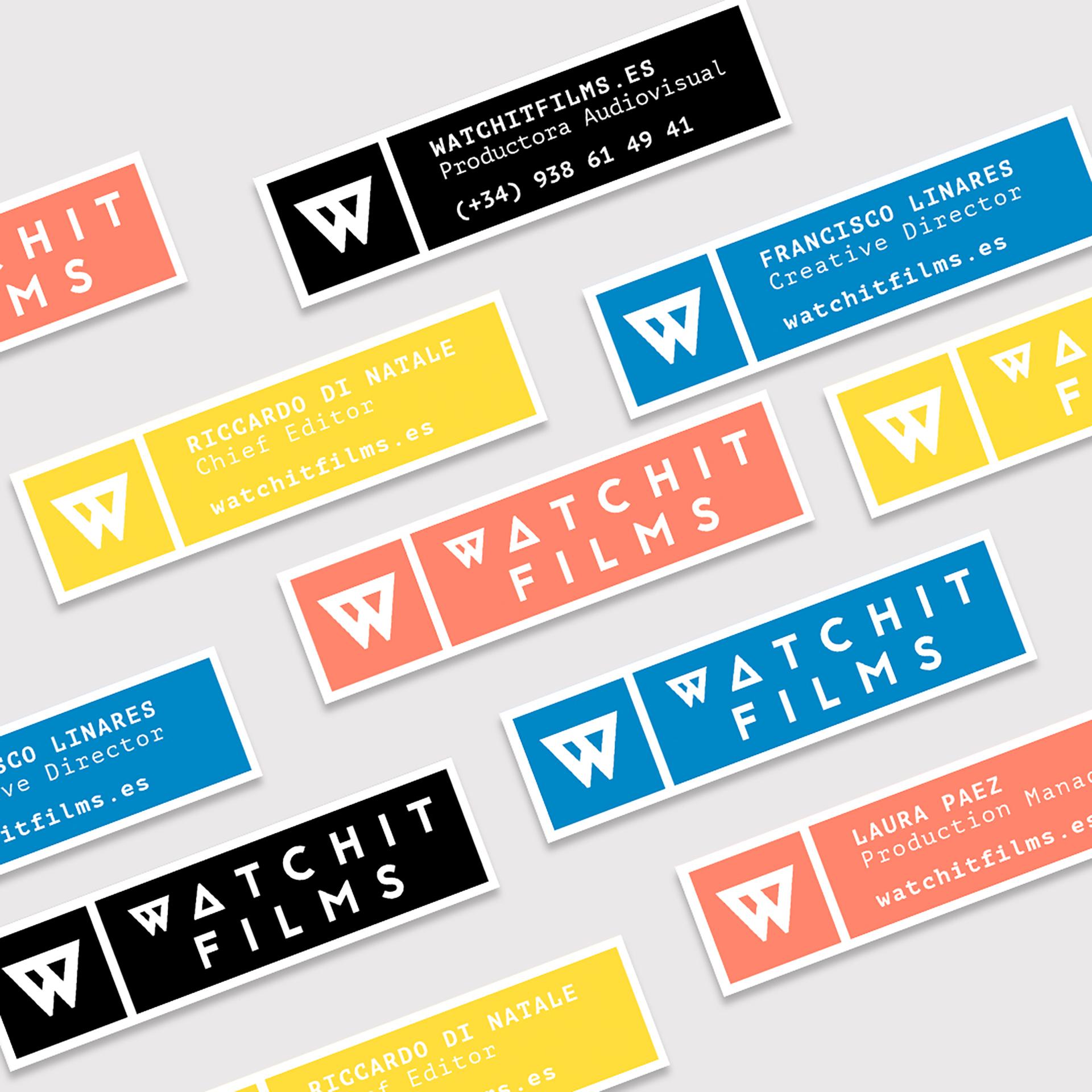 La Mujer de Kennedy Málaga Diseño gráfico branding Watchit Films