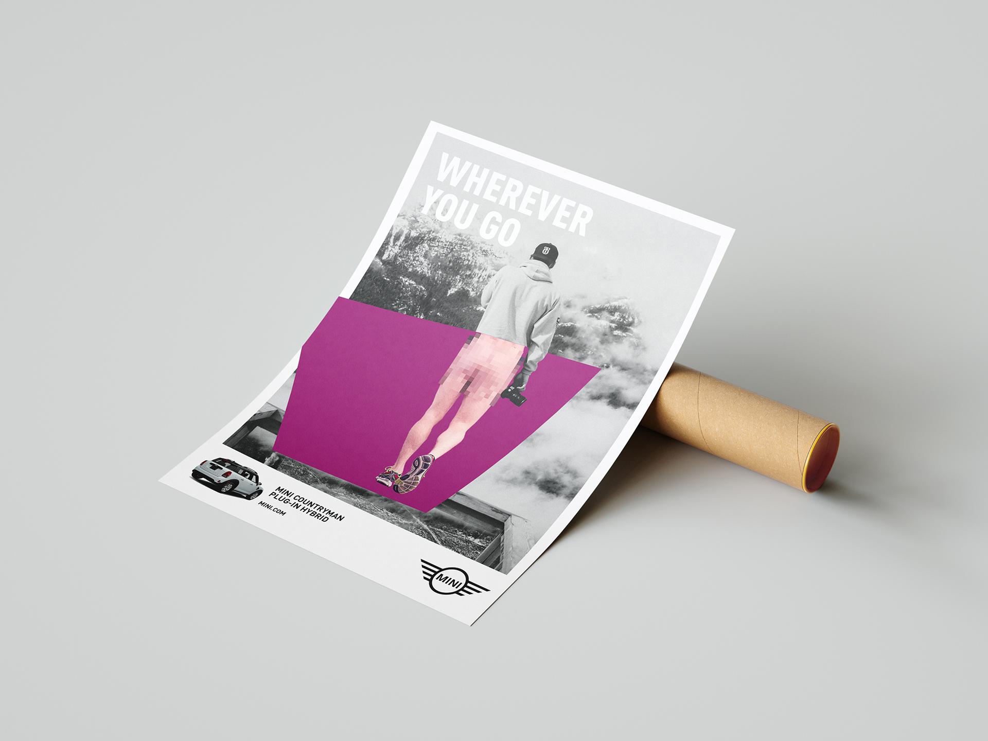 La Mujer de Kennedy Málaga Diseño gráfico cartelería